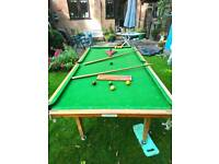 Snooker table half size