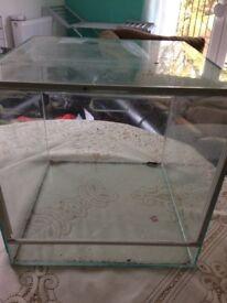 3 GLASS TERRARIUM REPTILE HOMES