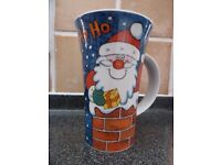 Dunoon Collectable 'Santa' Mug by Jane Brookshire