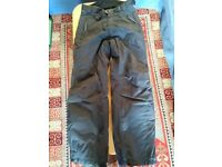 Ski trousers, womens' size 12, Nevisport, black, good as new