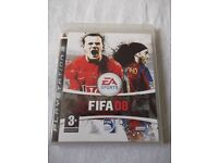 FIFA 08 PS3 GAME