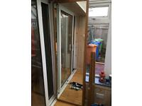 Sliding mirror wardrobe doors x 2