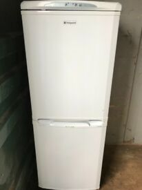 Hotpoint Fridge freezer white colour free delivery