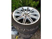 Set of 19inch BMW alloy wheels