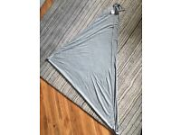 Mothercare Breastfeeding Shawl/Scarf/Cover - Grey (Sold Out)
