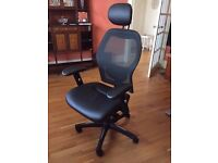 Luxury Mesh Back Ergonomic Office Chair AS NEW & EXCELLENT CONDITION (RRP £240)