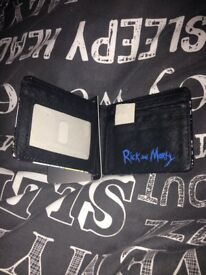 Rick and morty wallet new