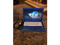 "HP Streambook Windows 10 Blue Laptop 13.3"" / £125 ONO"