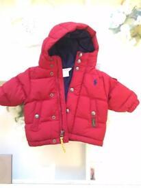 Baby Boys Ralph Lauren coat 3 months