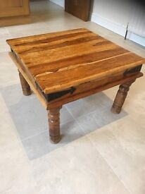 Mexican Pine Side Table / Coffee Table