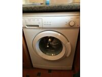 Curry's washing machine - nearly brand new - perfect condition