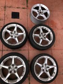 "Vauxhall Astra 18"" alloys"