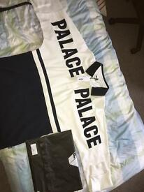 Palace p2 rugby shirt size medium