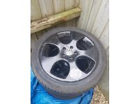 "18"" alloy wheels vw, seat, audi, bmw"