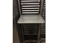 Baking rack stainless steel mobile high quality