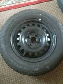 Wheels tyres New condition 185/70/14 88t