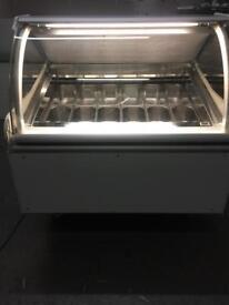 Ice cream display freezer 12 pans ISA Millennium