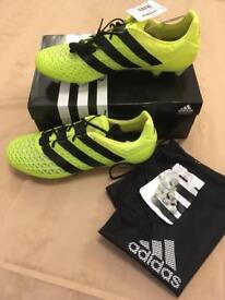 Adidas Ace. Football boots. 16.1 SG. Size 12.