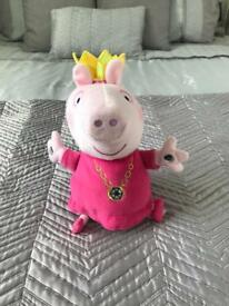 Peppa Pig Plush Princess Tedd