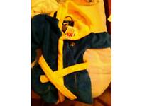 Minion Dressing Gown, age 5-6 years, F&F