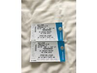 2 x Stone Roses Tickets Hampden Park 24/06/17 (seated)