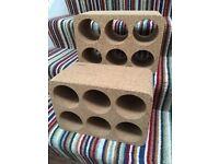 Habitat cork wine racks