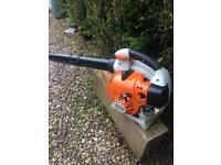 Stihl bg86c two stroke Petrol leaf blower