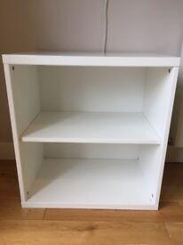 Ikea storage unit with shelf