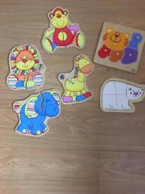 childrens wooden puzzles