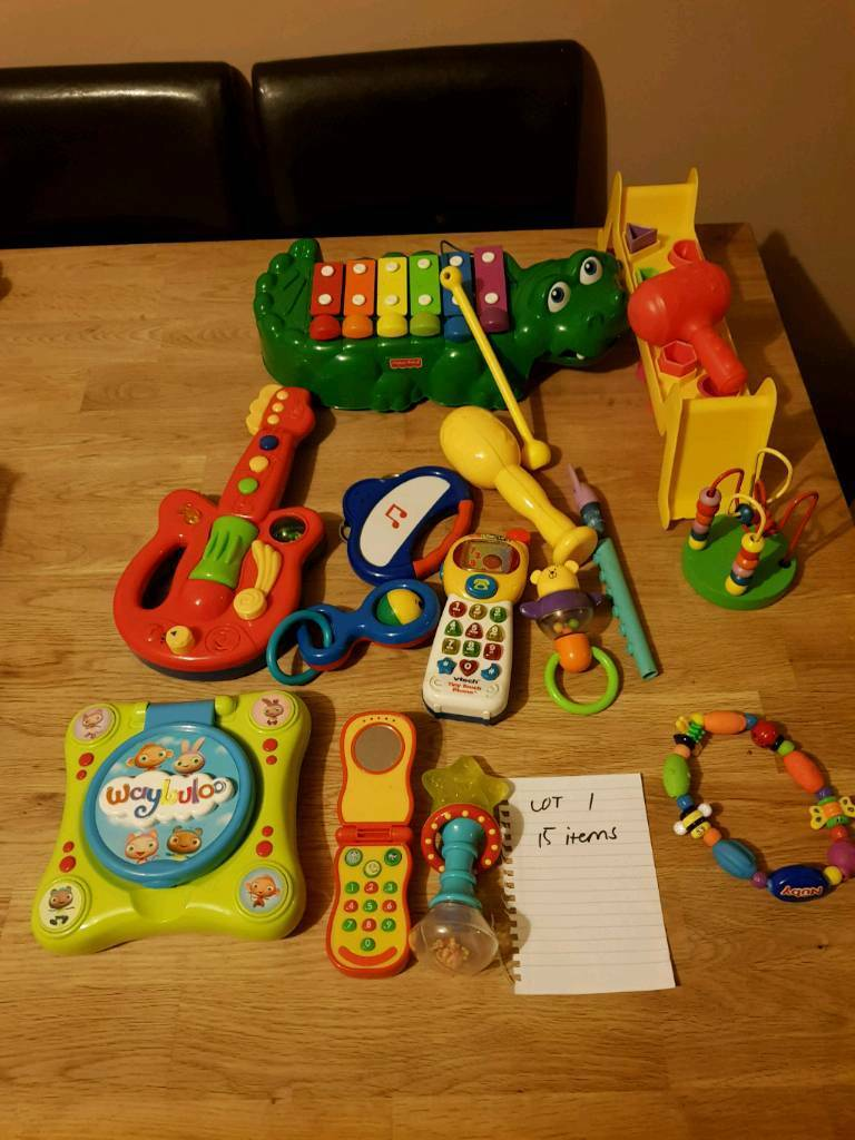 Bundle 1 baby toys 15 items