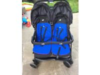 mothercare Joie twin pushchair / stroller / buggy