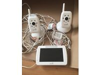 Summer Infant In View Digital Color Video Baby Monitor Two Camera