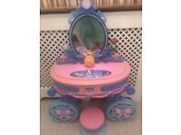 Disneys cinderella vanity / dressing table