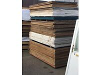 Ply sheets (Second Hand) 8 foot by 4 foot. £12-£14 Each Board -01895 239 607