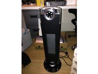 Dimplex DXSGT25 2.5kW Ceramic Tower Fan Heater with Remote Control