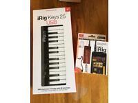 iRig USB Keyboard + iRig Guitar App/Lead