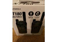 Motorola XT180 PMR446 Walkie Talkie Radios