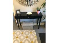 Beautiful black console/dressing table