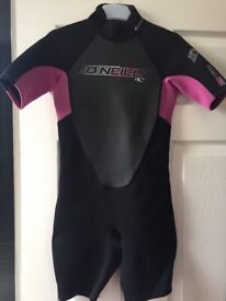 Girls O'Neil Wet suit and Life Jacket
