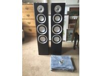 Pair Freestanding M-A Audio Speakers - Brand New