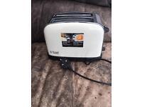 Russell Hobbs toaster Cream