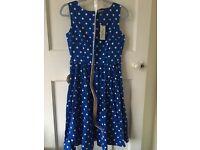 Lindy Bop Audrey dress, size 10, BNWT