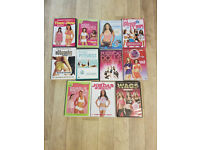 Women's Fitness DVD selection for sale £5