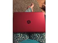 HP laptop as new with cordless mouse and case