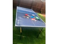 Slazenger 3/4 Table Tennis Table
