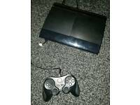 Ps3 super slim 500gb console / 5 games