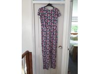 Floral Womens Summer Jumpsuit Size 12 New With Tags