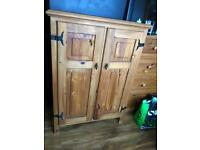 Mexican pine cupboard