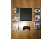 ps4 virtually unused with six games