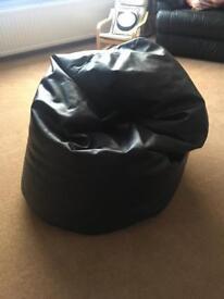 Large dark brown Next beanbag